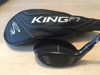 KING COBRA F7 - Men's FWY 3-4 Wood - R Flex R/H *VGC*