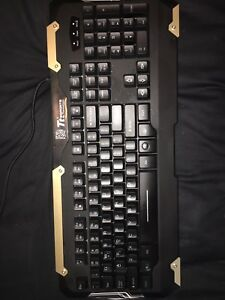 Backlit Keyboard and Mouse Combo