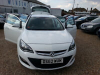 2013 (62) Vauxhall Astra 2.0 CDTi 16V ecoFLEX SRi 5dr Hpi Clear,FSH,Start/Stop,Long Mot