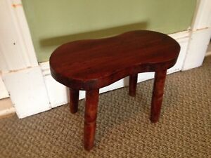 Locally Made Hand Crafted Pine Milking Stool