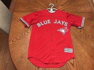Toronto Blue Jays Josh Donaldson Majestic Scarlet Jersey