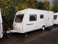 2008 Bailey Ranger 500/5 5 berth caravan MOTOR MOVER, AWNING, VGC,BARGAIN !