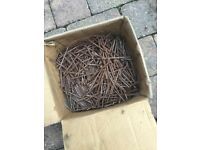 Box of c. 200 4 inch Nails