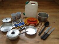 Camping cooking and water bundle - clean and in good used condition