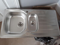 1.5 bowl new kitchen sink