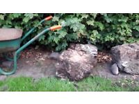 Rocks/Boulders for rockery ect