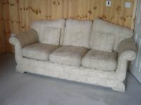 3 Seater Sofa and Arm Chair - Can Deliver