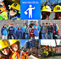 Safety First-SFC Ltd. is now looking for TCP's & TWS's