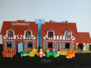 Fisher Price Toy House 1980s