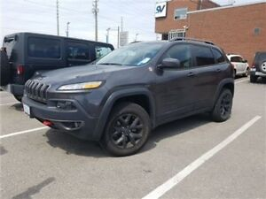 2017 Jeep Cherokee Trailhawk Demo, Navigation, Leather, Panorami