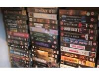 Vhs movies over 100 video tapes