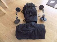 Leathers & helmet Racks x 2
