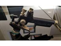 Sata minijet 1.2 sr black frosted limited edition spray gun with cup / pot