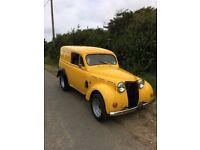 Renault juvaquatre van, 1958, hotrod, rat rod, custom van etc....