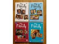 My family DVD bundle