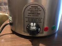 2x 10 ltr soup kettle/ warmer for cafe restaurant deli