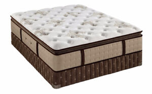AMAZING DEAL Queen Size PILLOW TOP Mattress with FREE SPLIT BOX