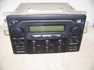 Honda Radio Tuner, Cd Player, Double DIN size