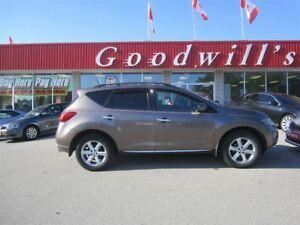 2009 Nissan Murano SL! NAVIGATION! HEATED LEATHER SEATS!