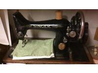 Vintage singer sewing machine SOLD