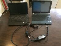 Two HP netbooks spares or repairs