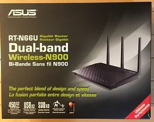 Asus NT-N66U Gigabit Router Dual-band Wireless N900