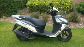 SINNIS Shuttle 125cc Scooter PX Swap UK delivery