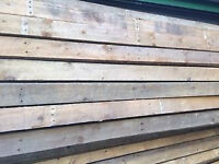 4 x 1 Rough Sawn Timber