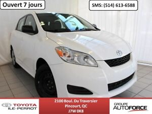 2012 Toyota Matrix GRP COMMODITÉ, A/C, GRP ÉLEC, CRUISE