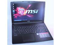 """MSI GL62 15.6"""" Full-HD Gaming Laptop: Intel 6th Gen Quad, NVIDIA, 12GB RAM & 1TB"""