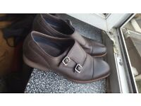 ALDO Brown Formal Leather Shoes