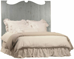 Amelie Headboard QN Antique Grey NEW Reg $1875