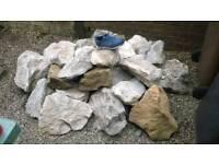 Mixed rockery stones