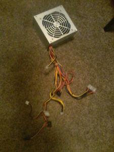 350 WATT COMPUTER PSU w/ 6 PIN PCIe