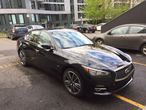 Infiniti Q50 Limited 2015 - transfert de bail / location