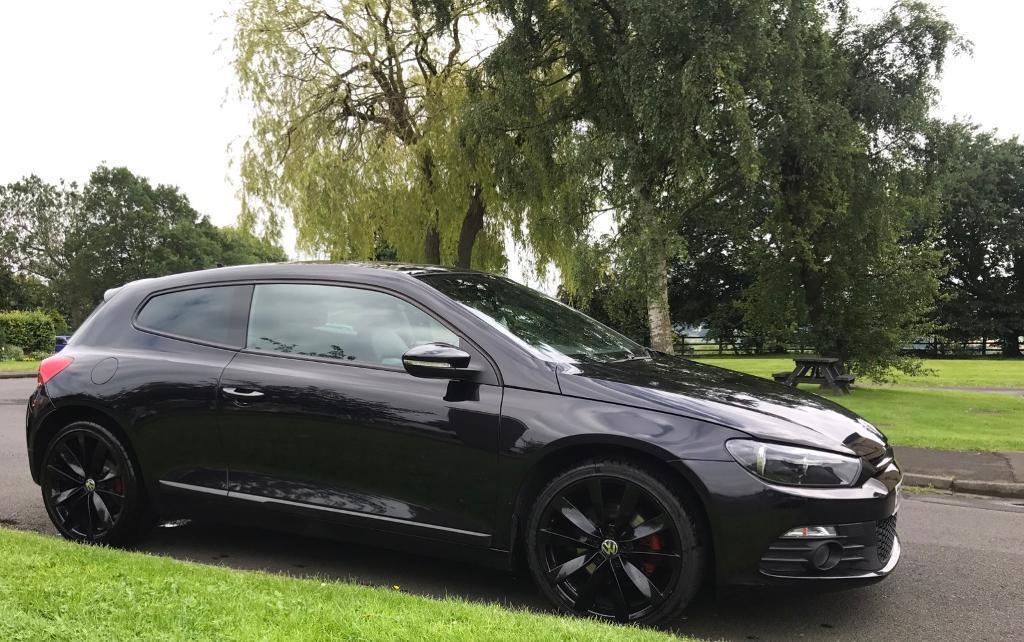 Volkswagen scirocco 2018 black