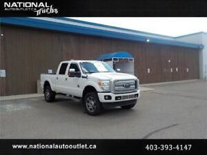 2014 Ford Super Duty F-350 SRW Platinum With Level KIT