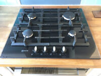 Neff Gas Hob - Black Glass
