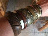 Assorted bangles
