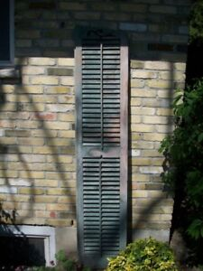 Large Wooden old Shutter