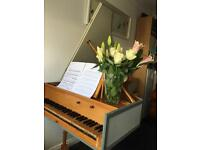 Pianist/harpsichordist wanted for general music-making!