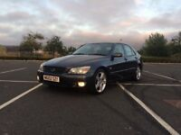 Lexus IS200 SE - Rare Gun Metal Colour