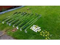Selection of Golf Equipment