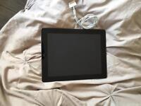Black iPad 3 16GB WIFI with charger