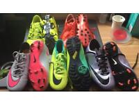 Football Boots for sale £10 a pair good uses condition
