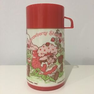 1980 Aladdin Industries Inc. Strawberry Shortcake Thermos