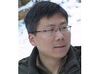 Master Chinese teacher, £12/hr