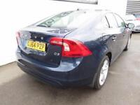 VOLVO S60 2.0 D3 SE LUX NAV 4d 134 BHP (blue) 2014