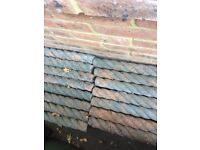 Antique style rope top Edging stone
