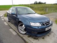 SAAB 9-3 2.0 T AERO 4d RARE HIRSCH PERFORMANCE 252BHP Sold With Years MOT Included